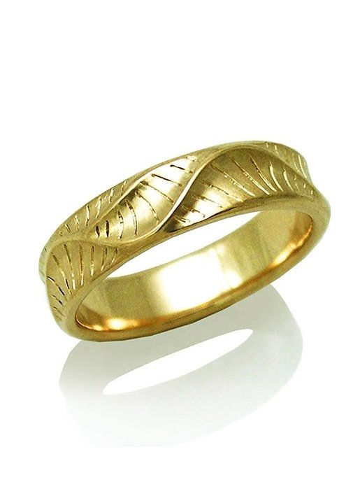 Men's Narrow Band Ring, K.Mita