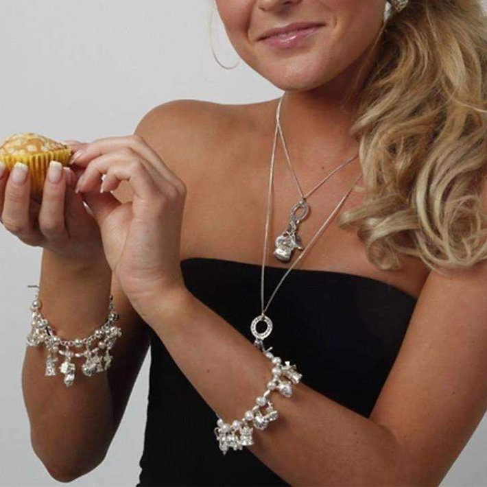 Womens charm bracelet