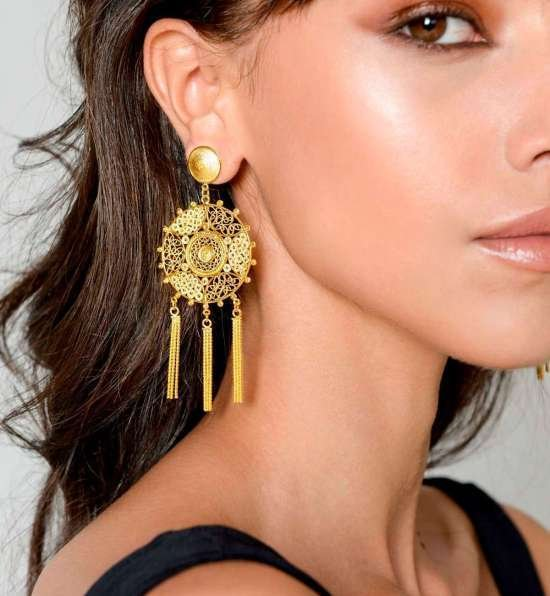 Pandora Earrings Gold