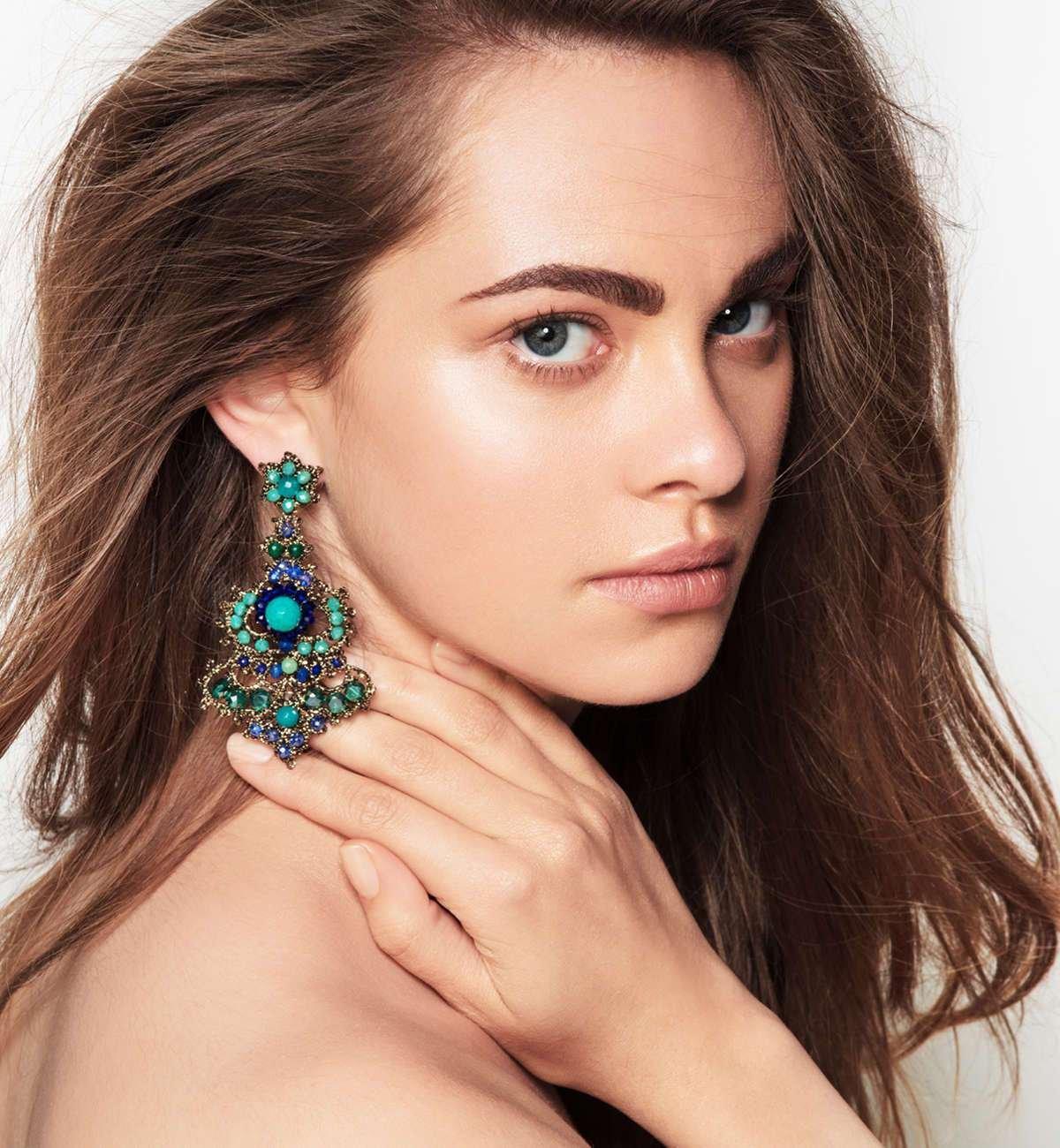 14kt Rose Gold & Diamond Marshall Earring Back - Jezebel London