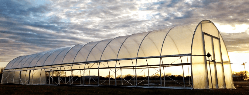 Installing Hoops in a Hoop House