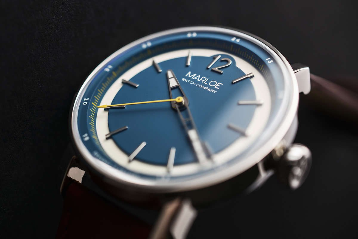 Marloe Watch Company, New, Watch, Blue, Dial, British