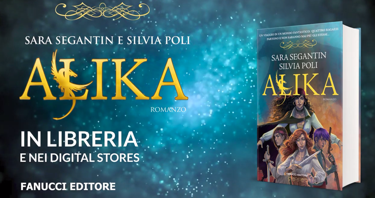 "Booktrailer ""Alika"" - Sara Segantin e Silvia Poli"
