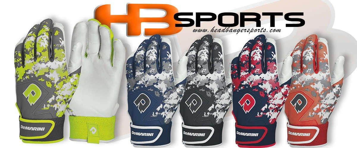 DeMarini Digital Camo Digi Camo Batting Gloves