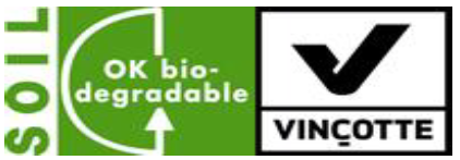 Compostable material logo