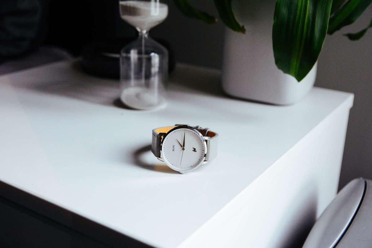 Wolf Grey Sachii Timepiece