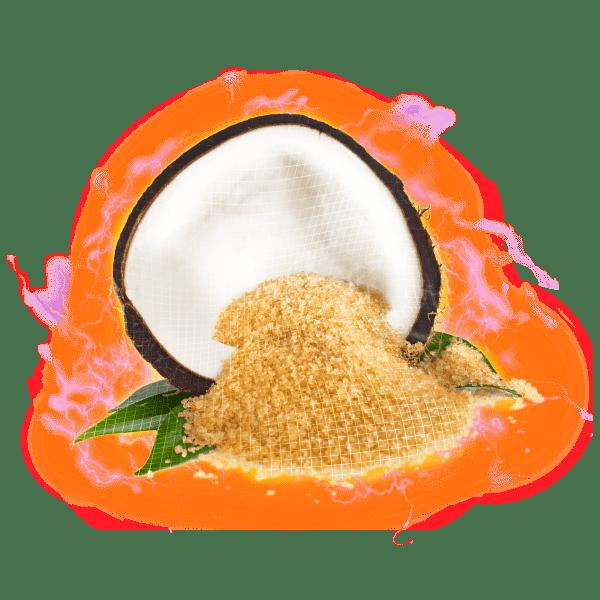 coconut sugar electric hologram