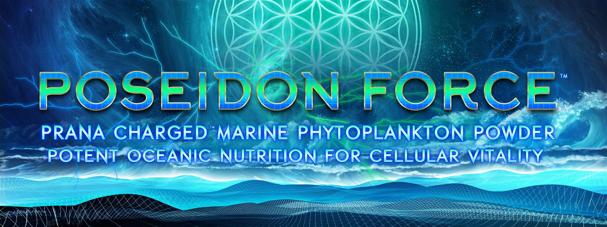 poseidon force marine phytoplankton powder flower of life