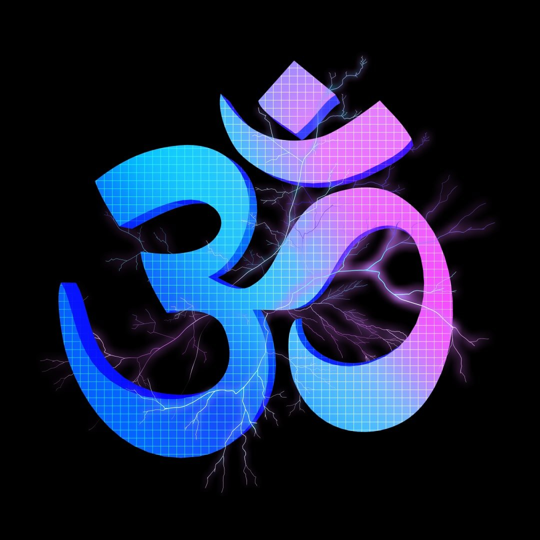 om symbol electric primal alchemy
