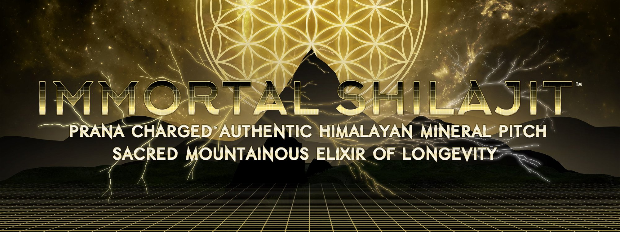 immortal shilajit flower of life authentic himalayan shilajit resin