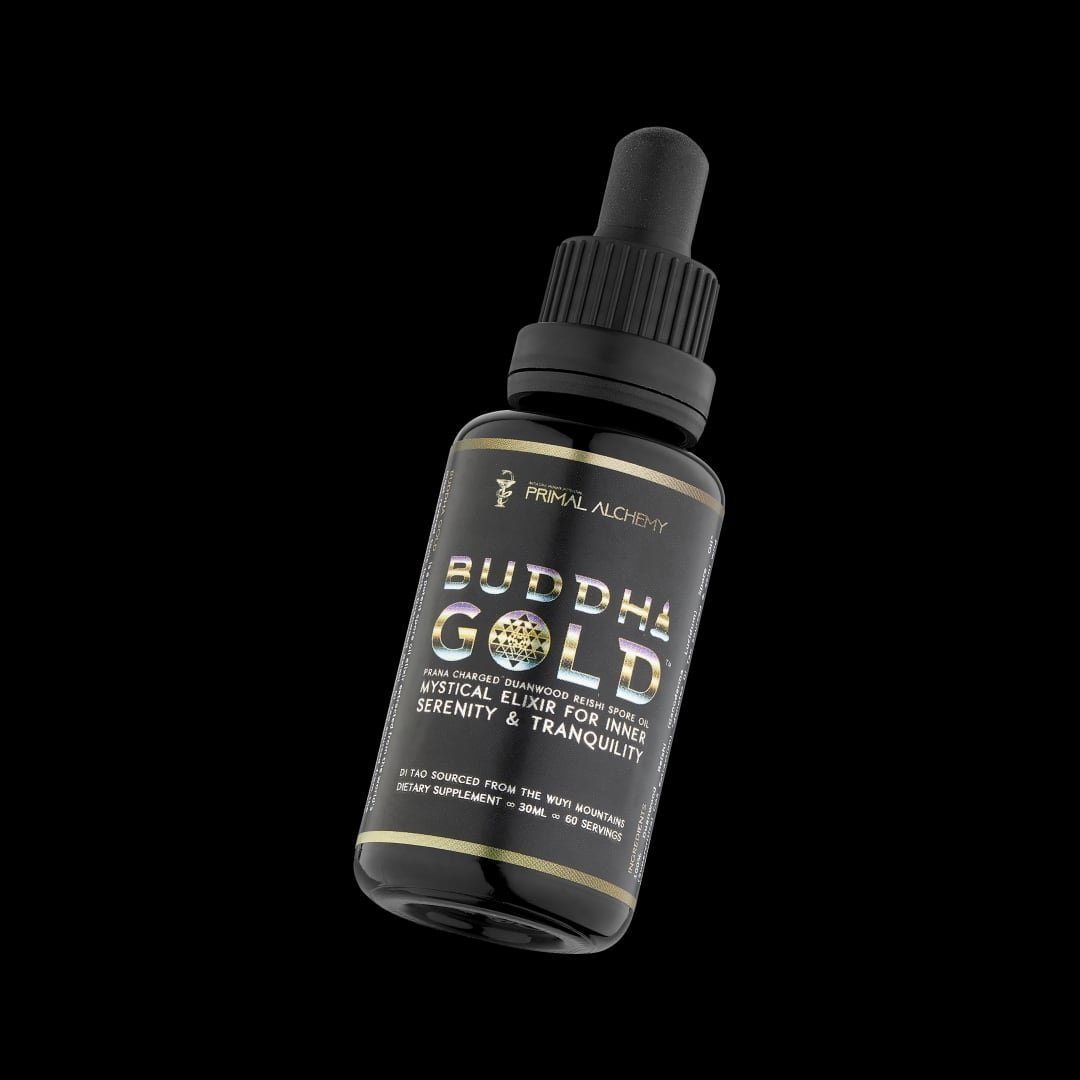 buddha gold duanwood reishi spore oil
