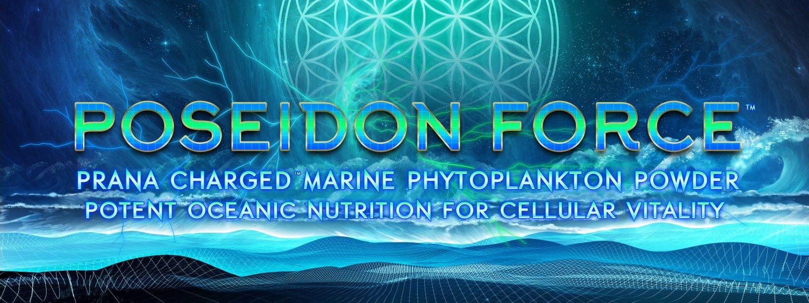 poseidon force marine phytoplankton powder flower of life