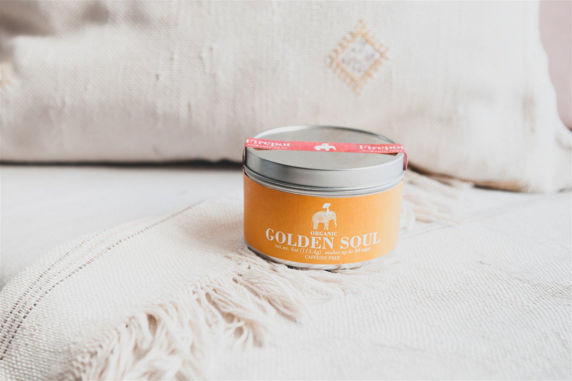 Golden Soul Turmeric Powder Tin