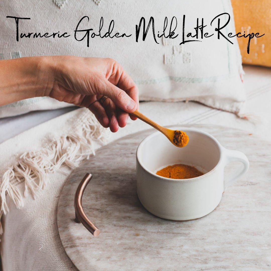 Turmeric Golden Milk Latte Recipe