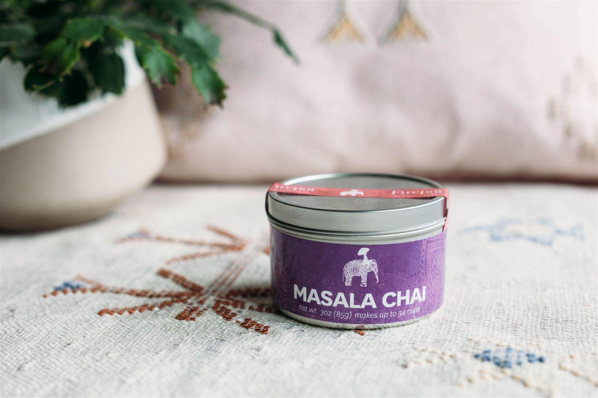 Firepot Masala Chai Loose Leaf Tin