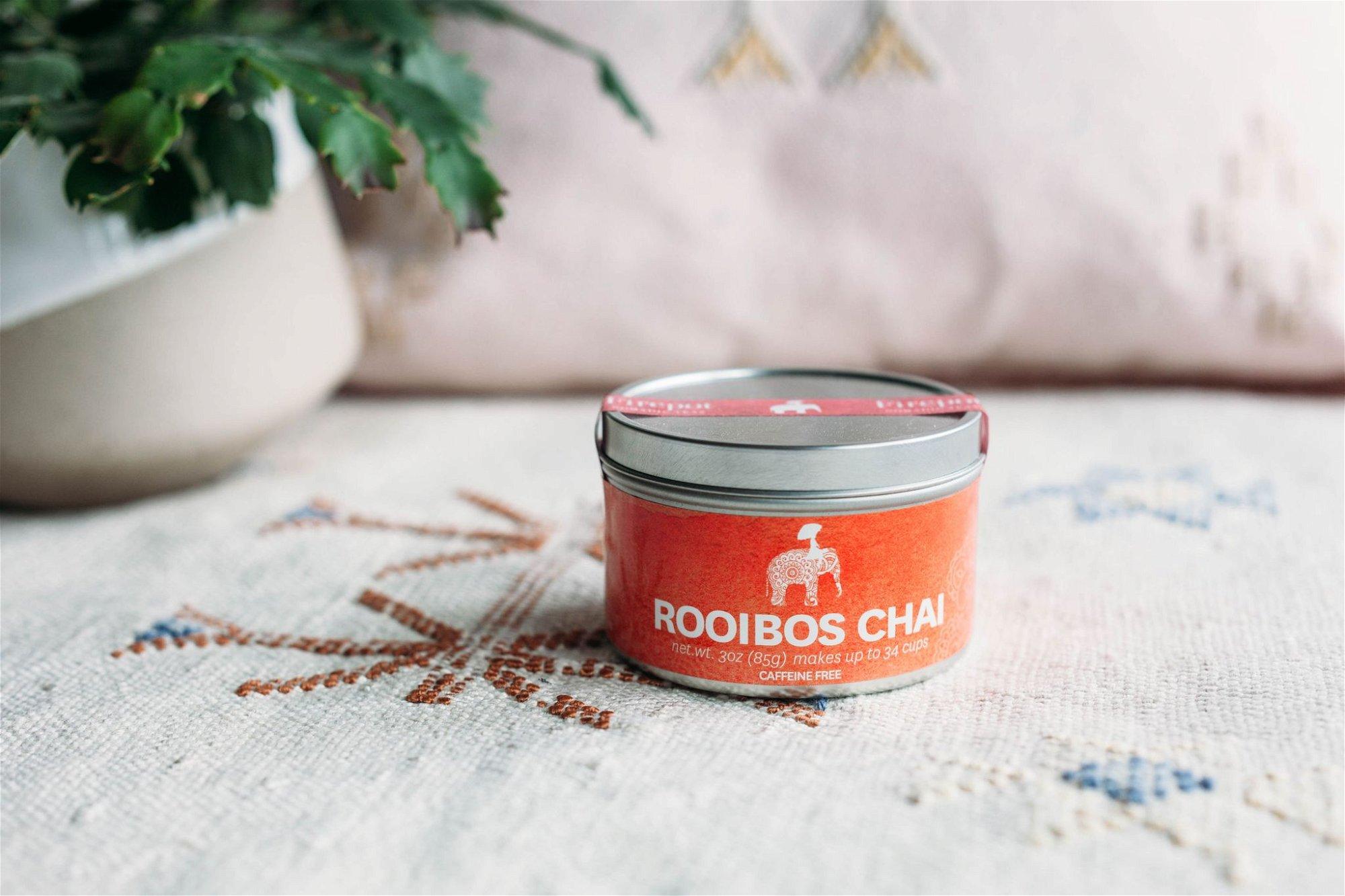 Firepot Rooibos Chai Loose Leaf Tin