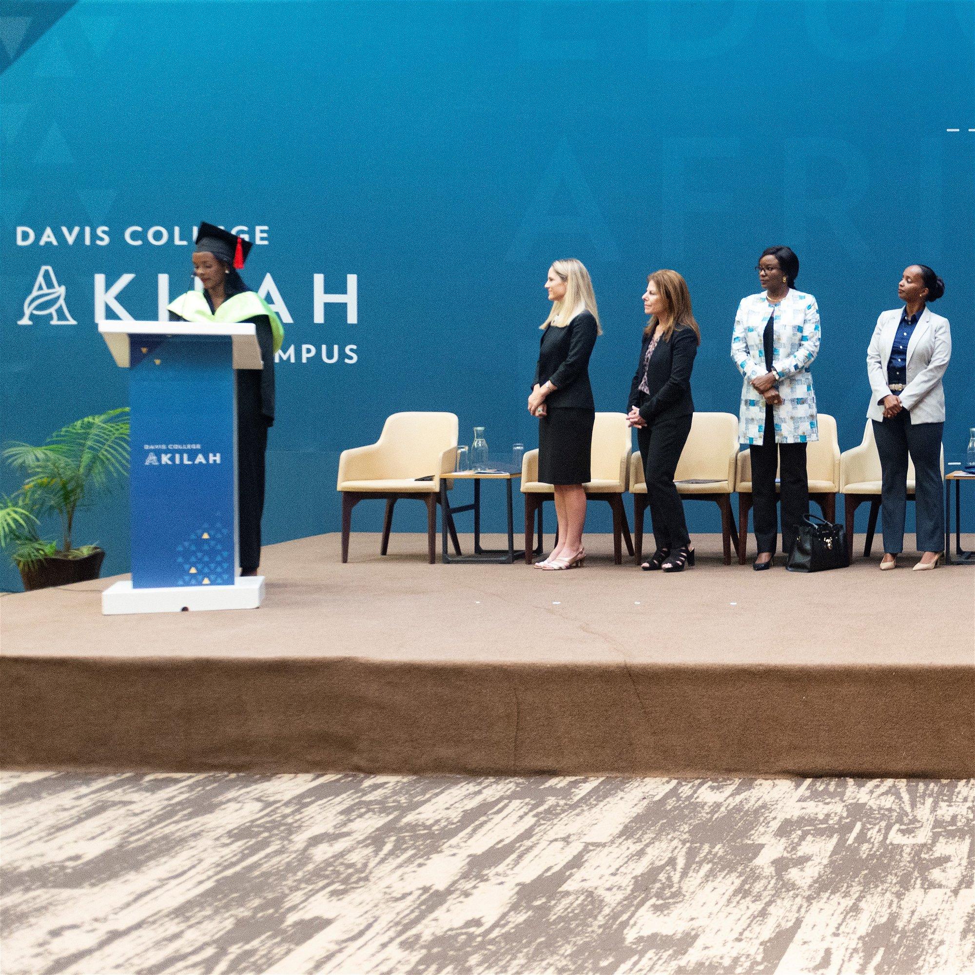 Akilah Institute graduation ceremony