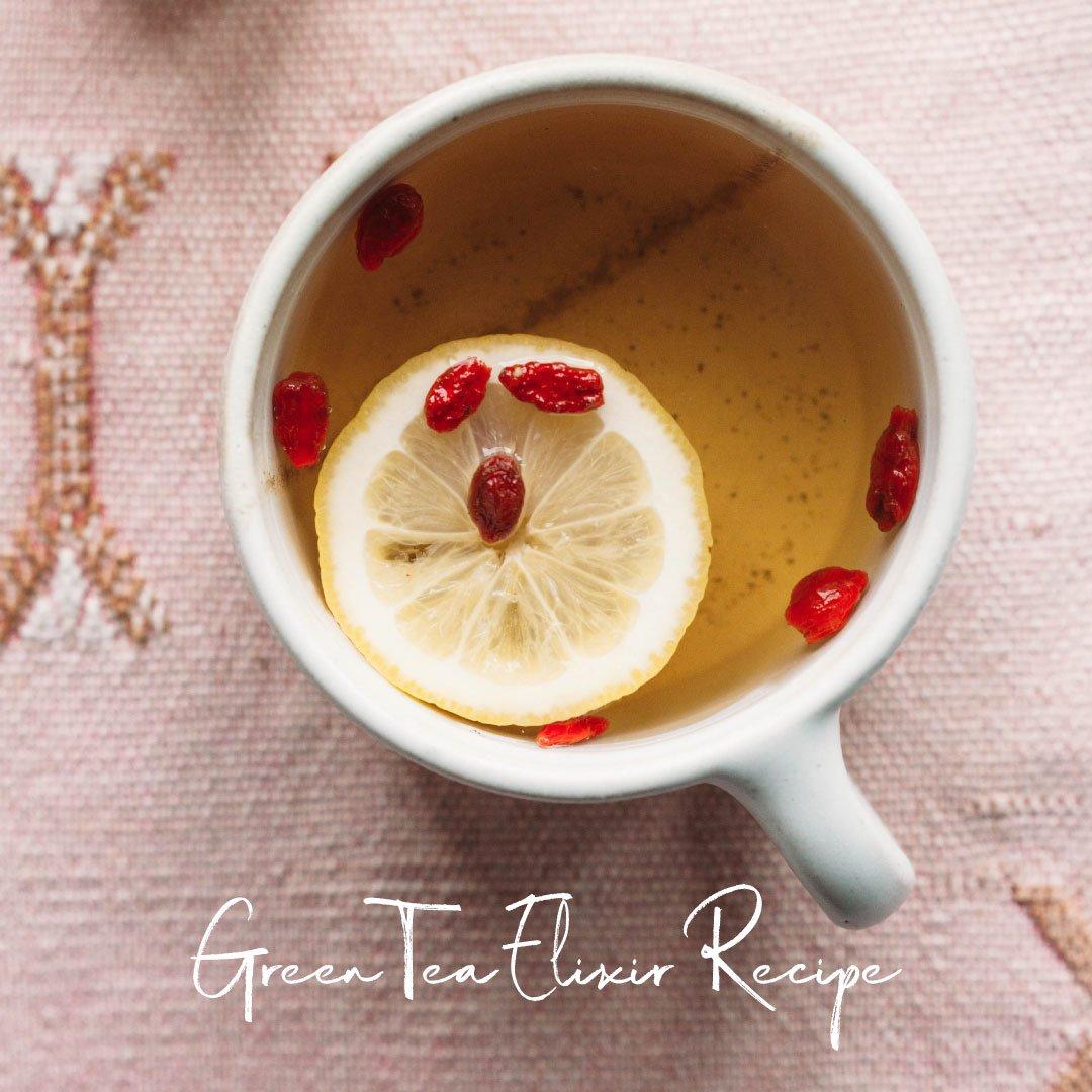 Green Tea Elixir Recipe