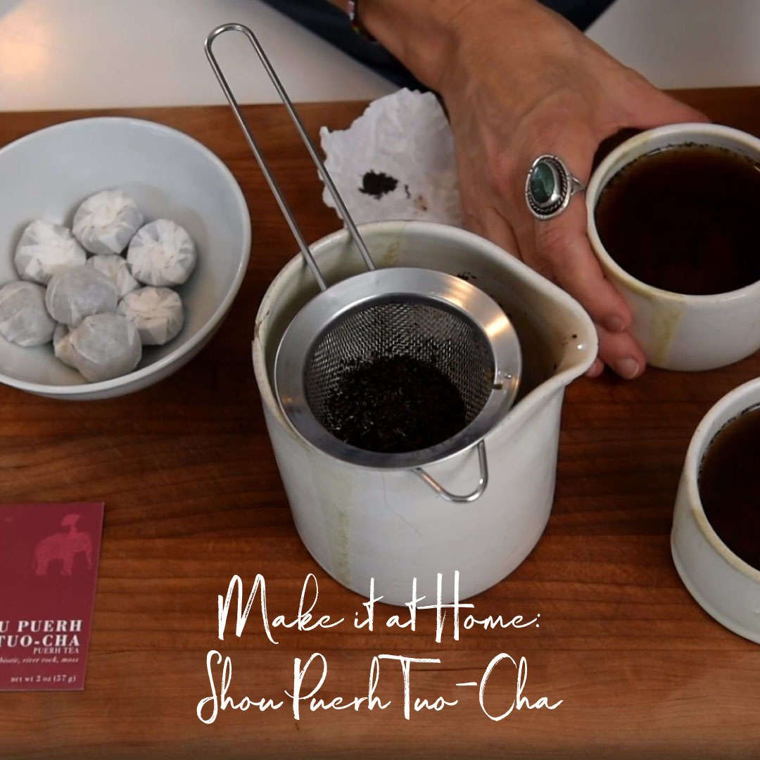 Make it at Home: Shou Puerh Tuo-Cha