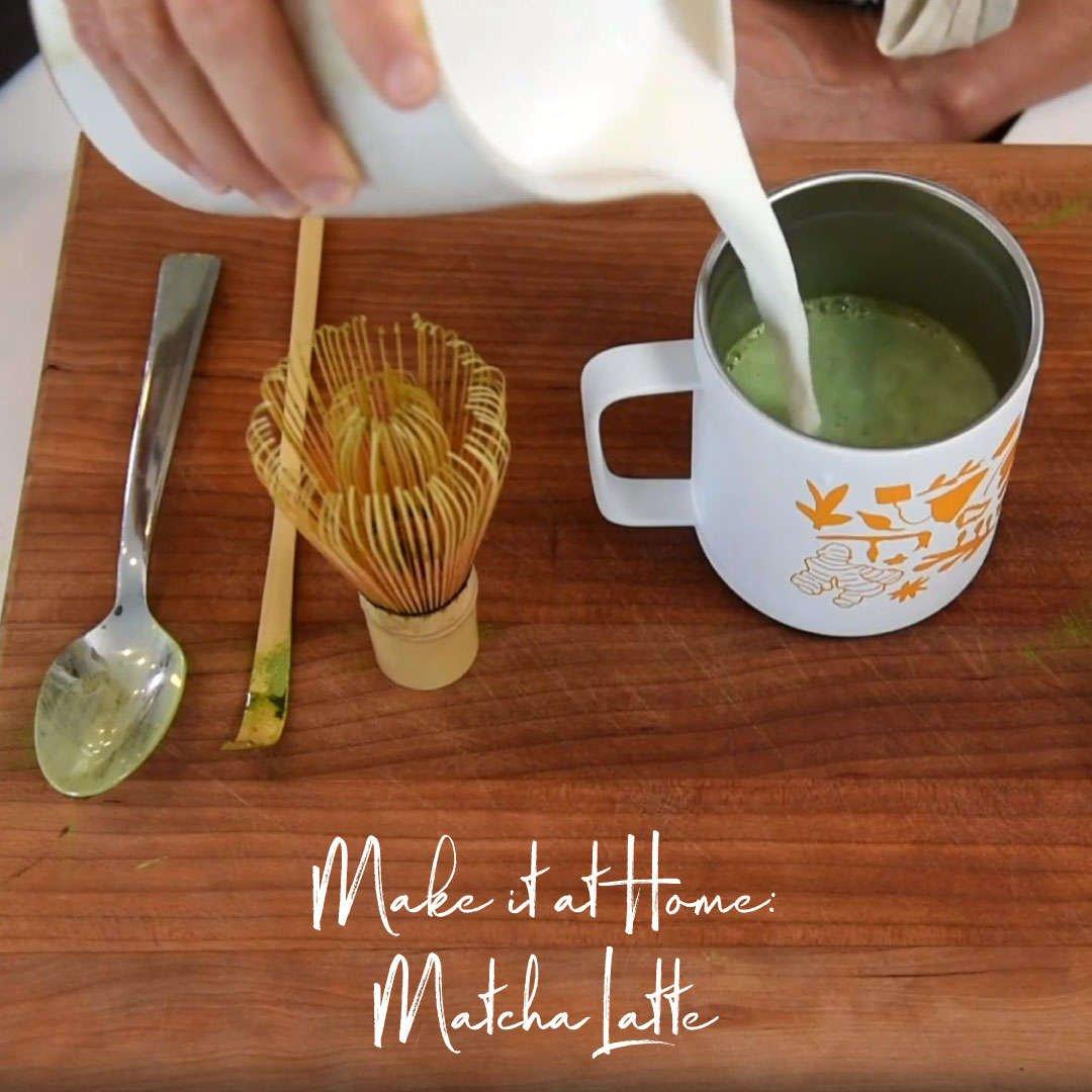 Make it at Home: Matcha Latte