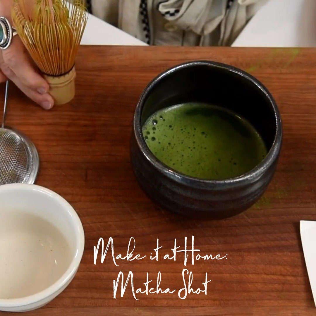 Make it at Home: Matcha Shot