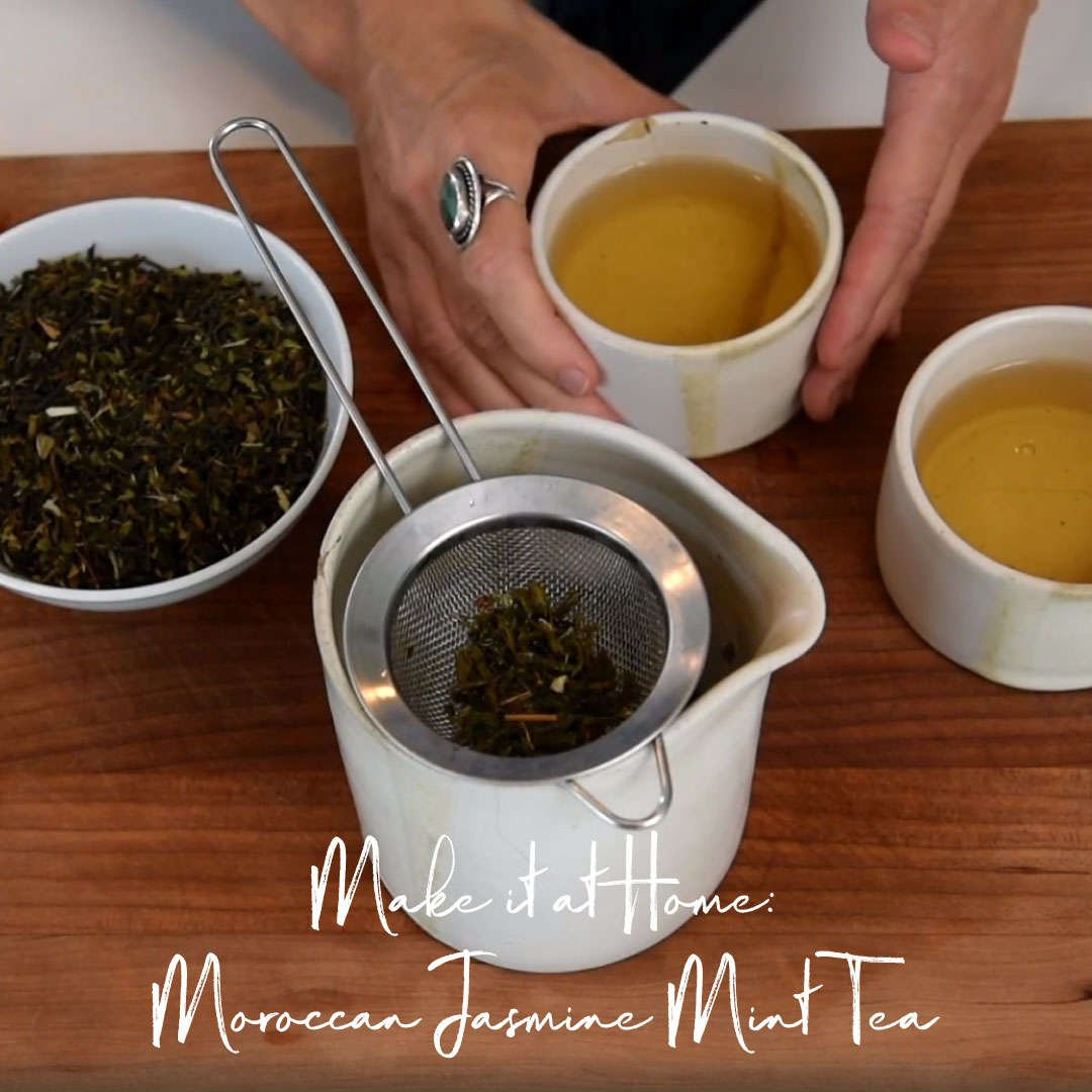 Make it at Home: Moroccan Jasmine Mint Tea
