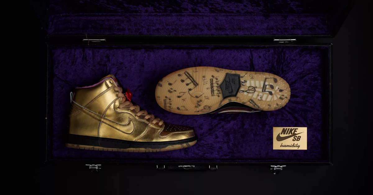 box of NIKE SB DUNK HIGH 'HUMIDITY'