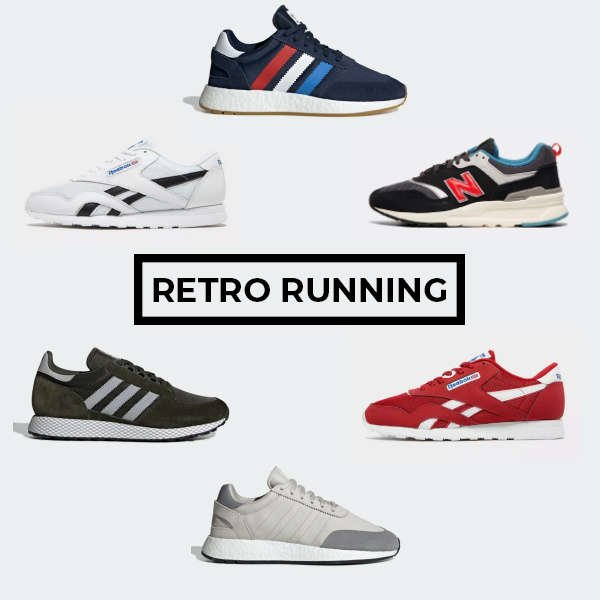 we have selected 6 of the best retro running available today