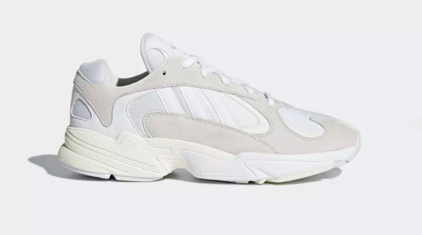 SIDE VIEW ADIDAS ORIGINALS YUNG-1 'CLOUD WHITE'