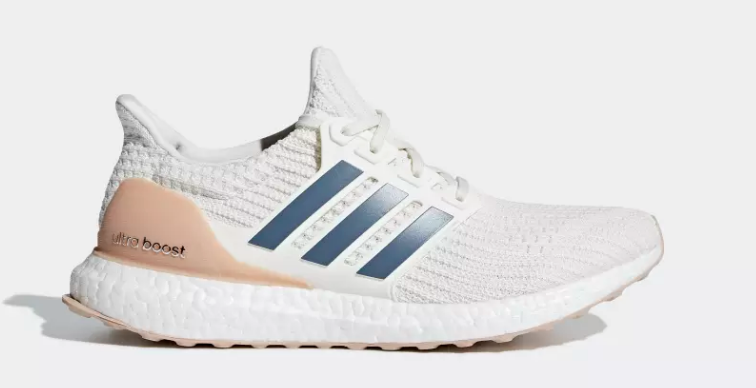 side of cloud white tech ink adidas ultra boost