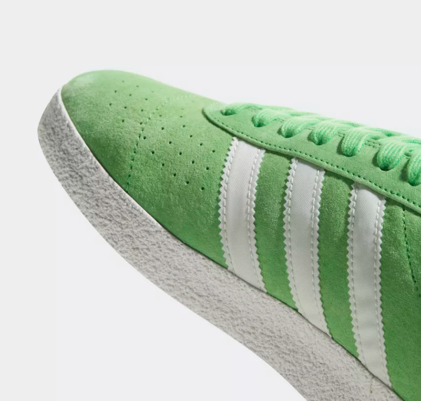DETAILS OF ADIDAS ORIGINALS MUNCHEN SUPER SPZL 'INTENSE GREEN'