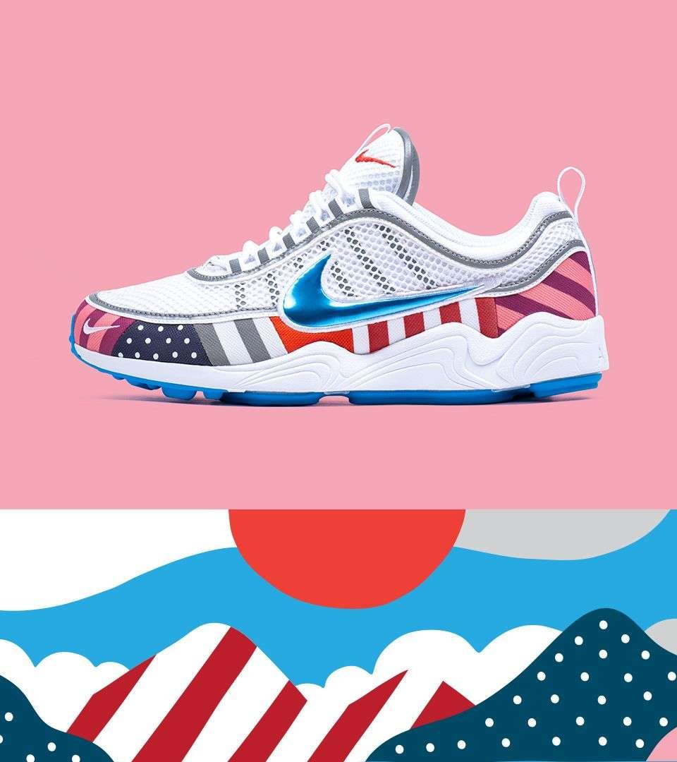 finest selection 5bc54 1eb75 Nike Air Zoom Spiridon 'Parra' – SOLEHEAVEN