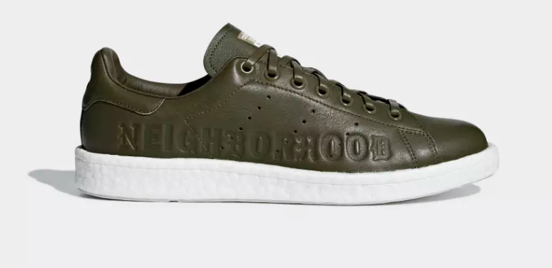SIDE ADIDAS ORIGINALS X NEIGHBORHOOD STAN SMITH BOOST