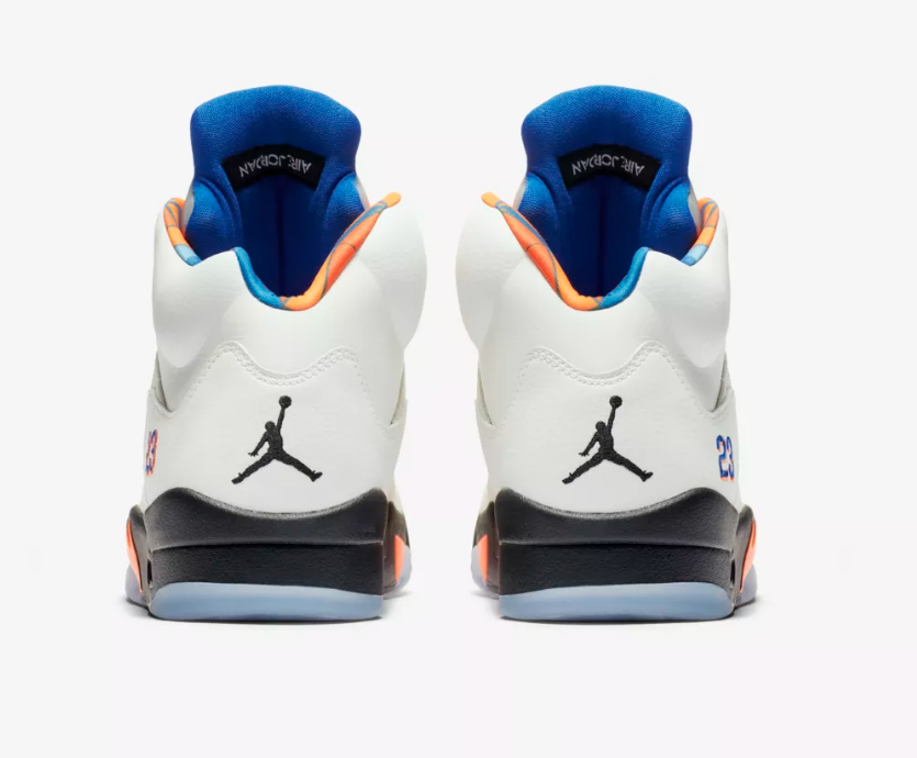 heel of AIR JORDAN 5 RETRO 'INTERNATIONAL FLIGHT'