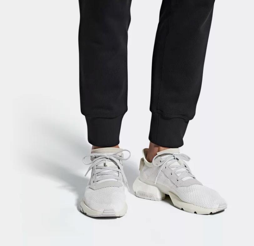 on foot adidas POD-S3.1 ftwr white