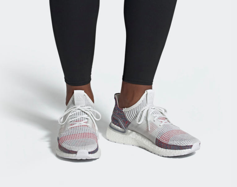 on foot adidas UltraBOOST 19 Refract
