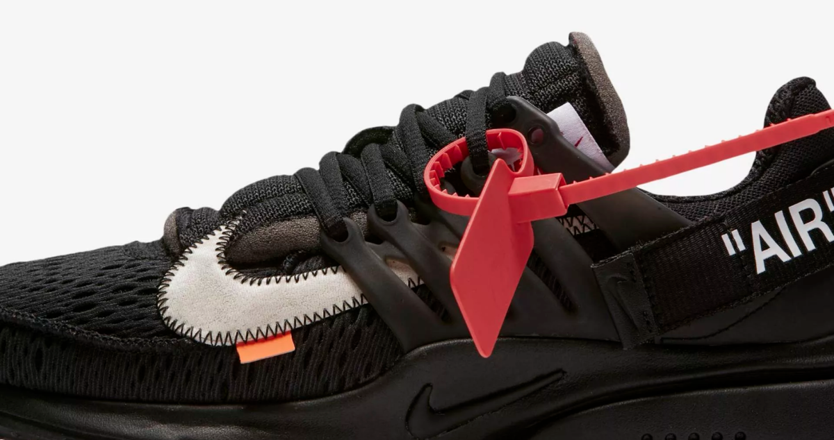 CLOSE UP NIKE AIR PRESTO X OFF WHITE 'THE TEN'