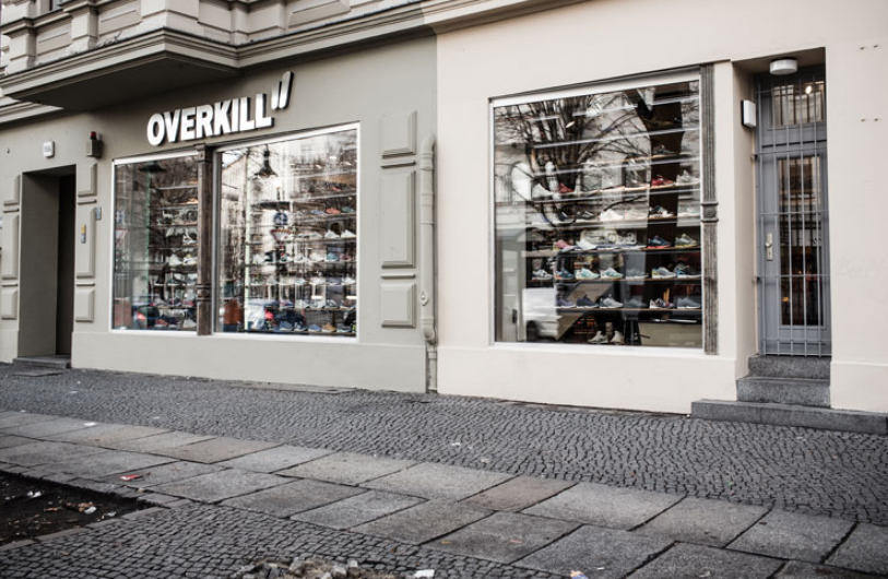 OVERKILL STORE FRONT BERLIN