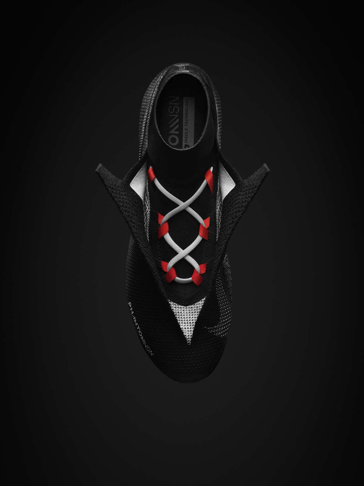 show ghost lace on nike phantom vision elite dynamic fit