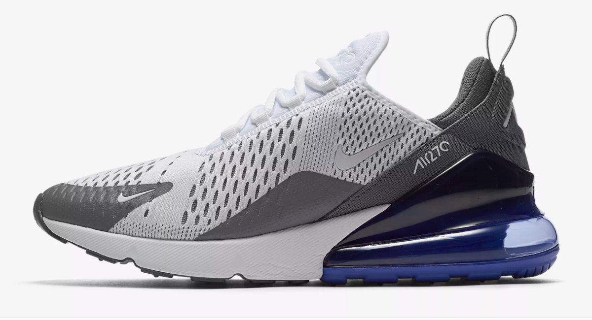 SIDE OF NIKE AIR MAX 270 PERSIAN VIOLET