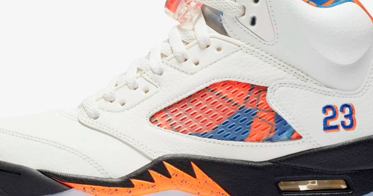 details AIR JORDAN 5 RETRO 'INTERNATIONAL FLIGHT'