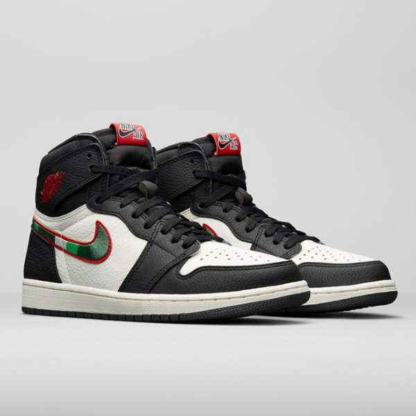 side view of air jordan 1 a star is born
