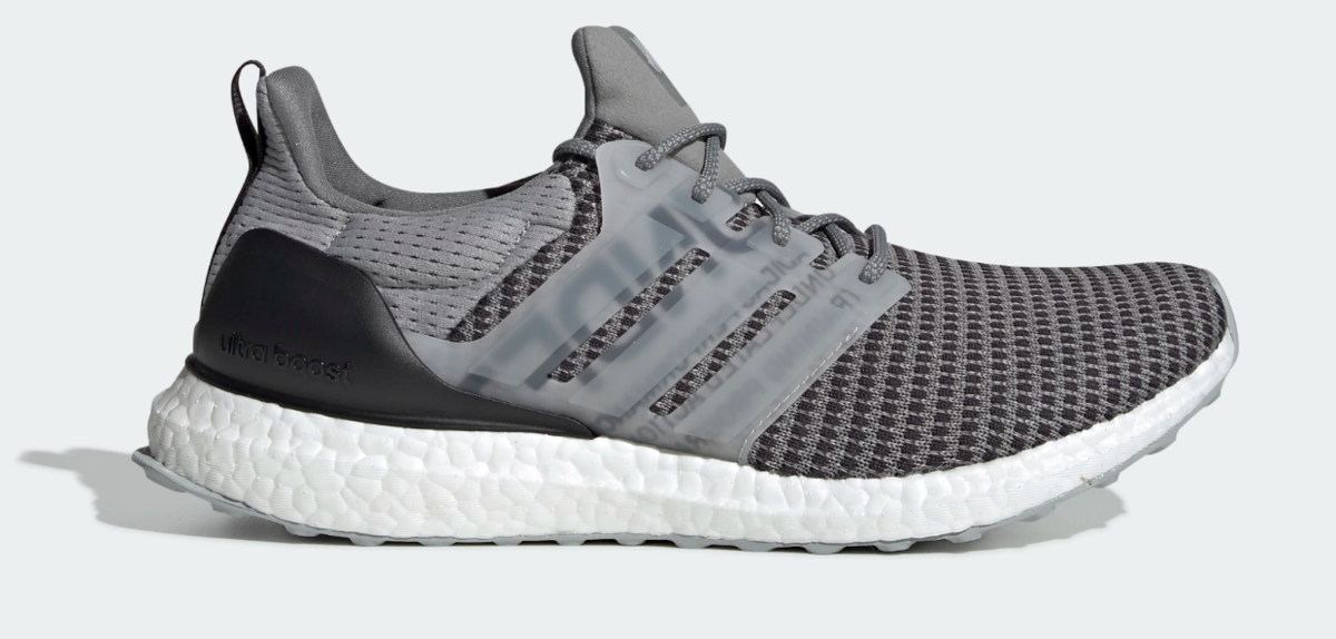 SIDE VIEW ADIDAS X UNDEFEATED ULTRABOOST SHOES