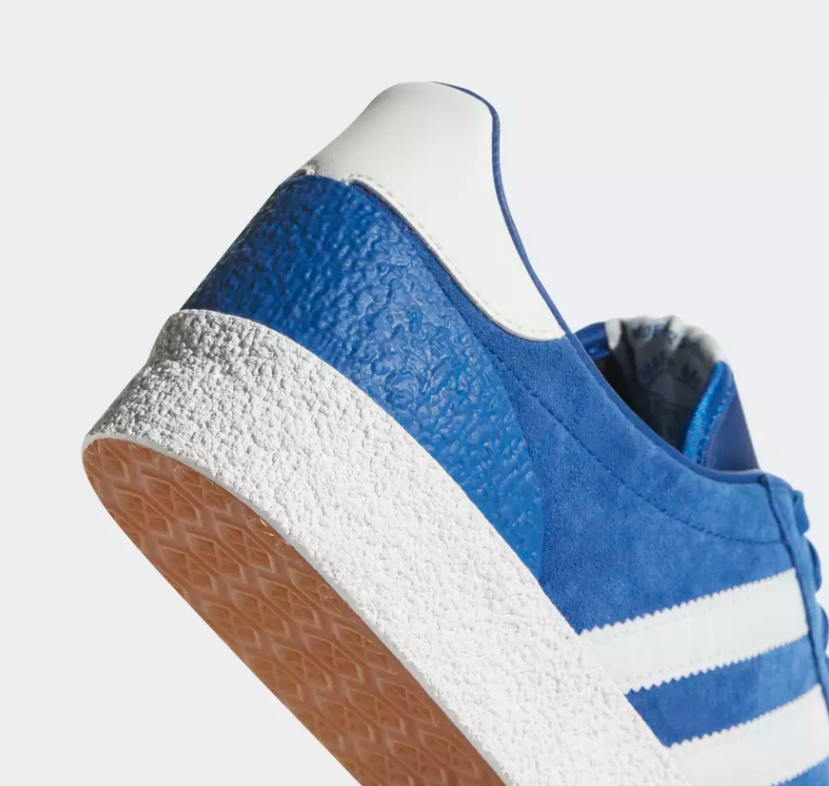HEEL OF ADIDAS ORIGINALS MUNCHEN SUPER SPZL 'COLLEGIATE ROYAL'