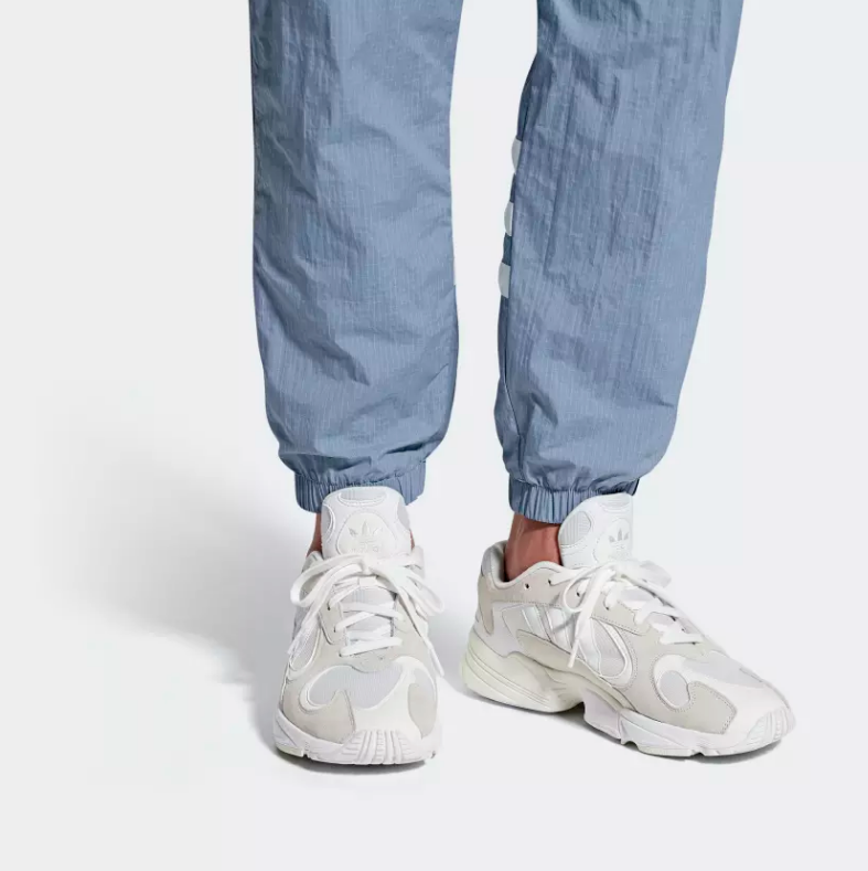 ON FOOT ADIDAS ORIGINALS YUNG-1 'CLOUD WHITE'