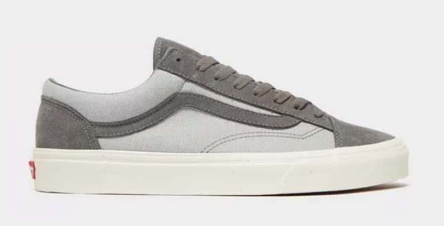 VANS STYLE 36 GREY SIDE VIEW