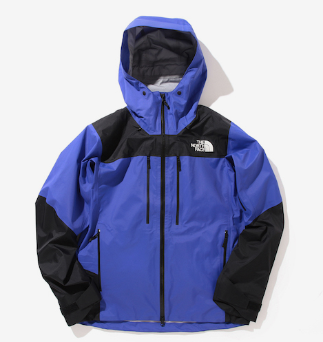The North Face x Beams Shell Jacket in purple