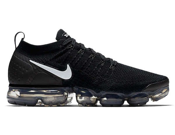 black nike air vapormax 2 flyknit
