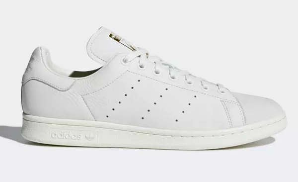 side view of adidas stan smith premium