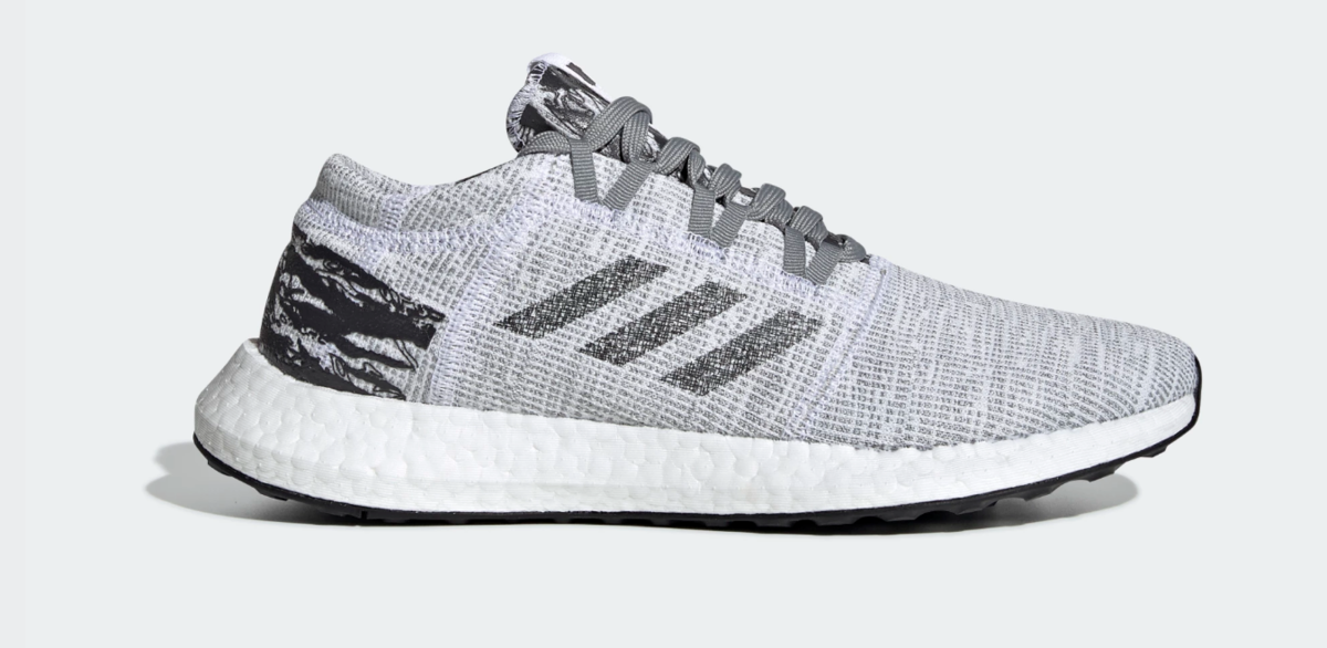 SIDE VIEW ADIDAS X UNDEFEATED PUREBOOST GO SHOES